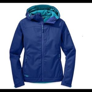 Outdoor Research, Transfer Hooded Jacket XS Baltic